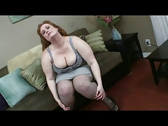 bbw red head fuck