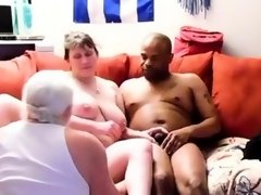Amateur college group sex in a threesome HD