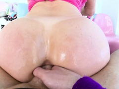 TRUE ANAL Big booty Kendra Lust ass fucked and creampied