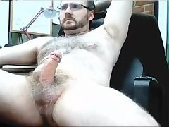 Cam Lad Pulls On A Nice Stout Cock