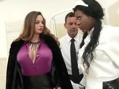 Crazy pornstars Josy Black and Cathy Heaven in hottest brunette, cumshots adult video