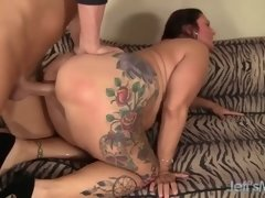 Busty and Chubby Mature Slut Lauren Fun Is Fucked Hard by Her Fitness Trainer