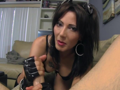 Trampy Stepmom Gives You A Dirty Talking POV Handjob