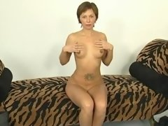 Short haired milf has quite a body